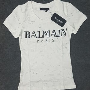 balmain women tshirt tee